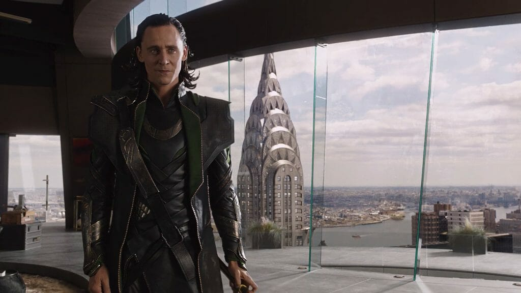 Loki In The Avengers 2012 Movie