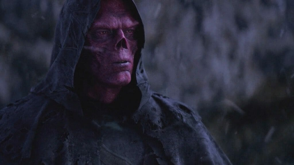 Red Skull In The Avengers Infinity Wars 2018 Movie