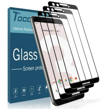 TOCOL Screen Protector For Google Pixel 3
