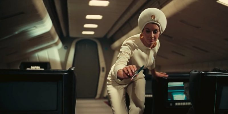 2001 A Space Odyssey 1968 Movie Showing Voice Assistent