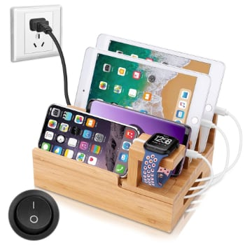 Charging Station WIth USB Ports