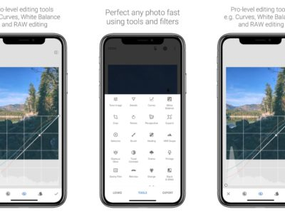 Best Photo Editor Apps for iOS - Snapseed App Screenshot