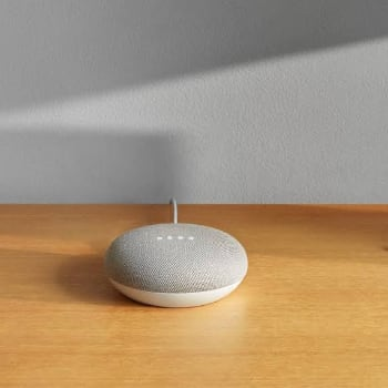 Google Home Mini as Valentine Day Gift