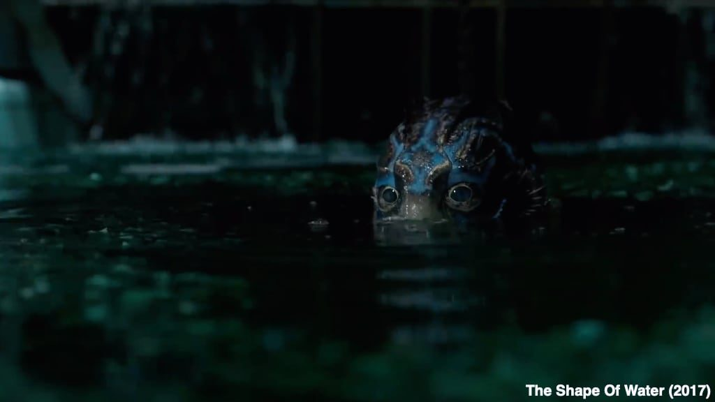 The Shape Of Water 2017 Oscar Winning Movie