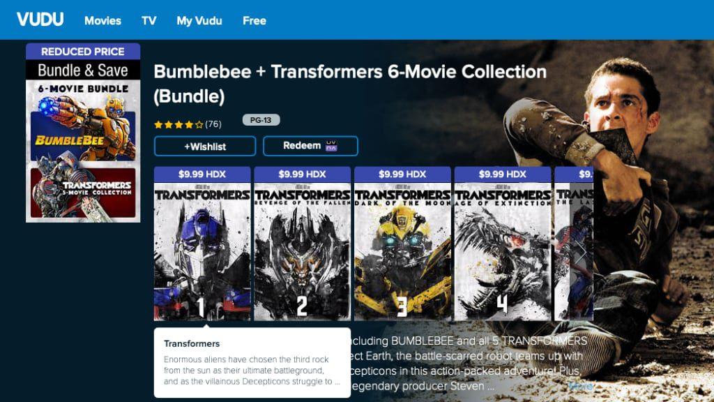 Get Transformers Movie Bundle Including Bumblebee On Sale