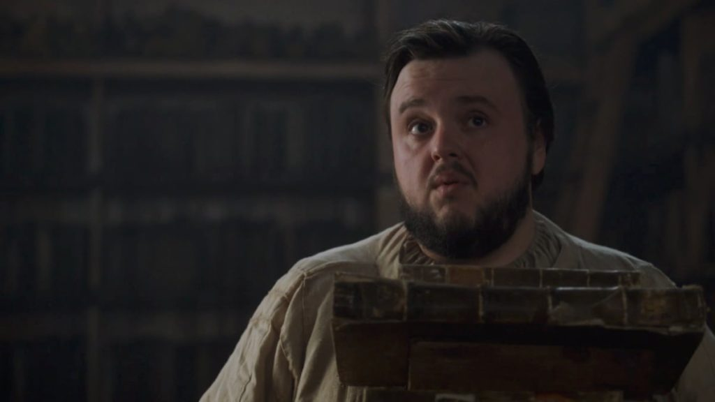 Samwell Tarly in Game Of Thrones