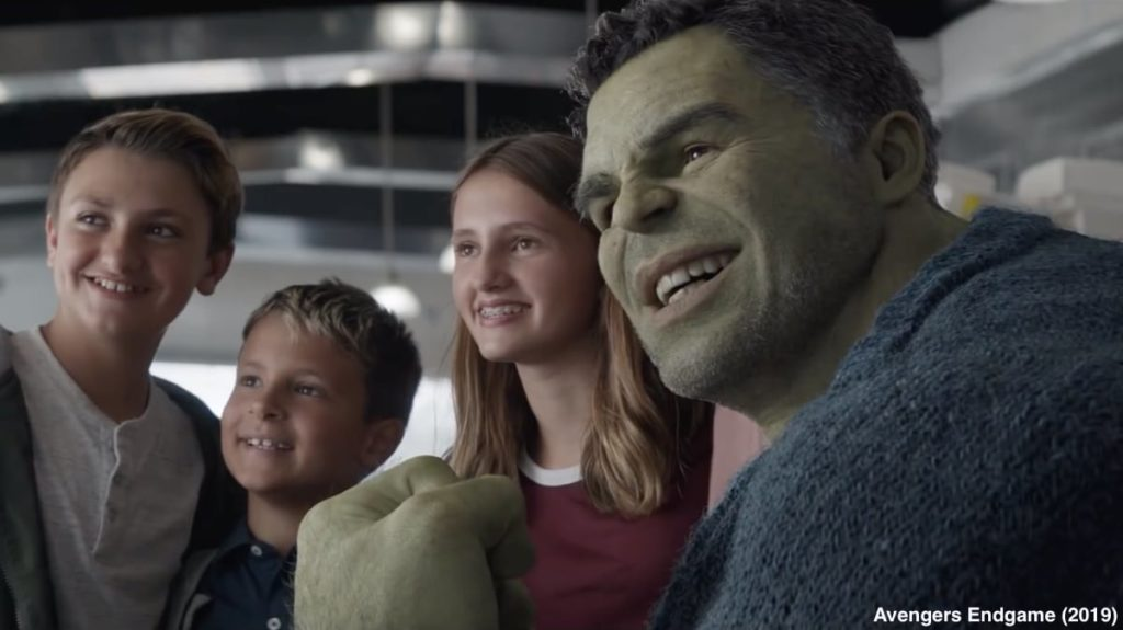 Avengers Endgame Hulk Banner Fusion