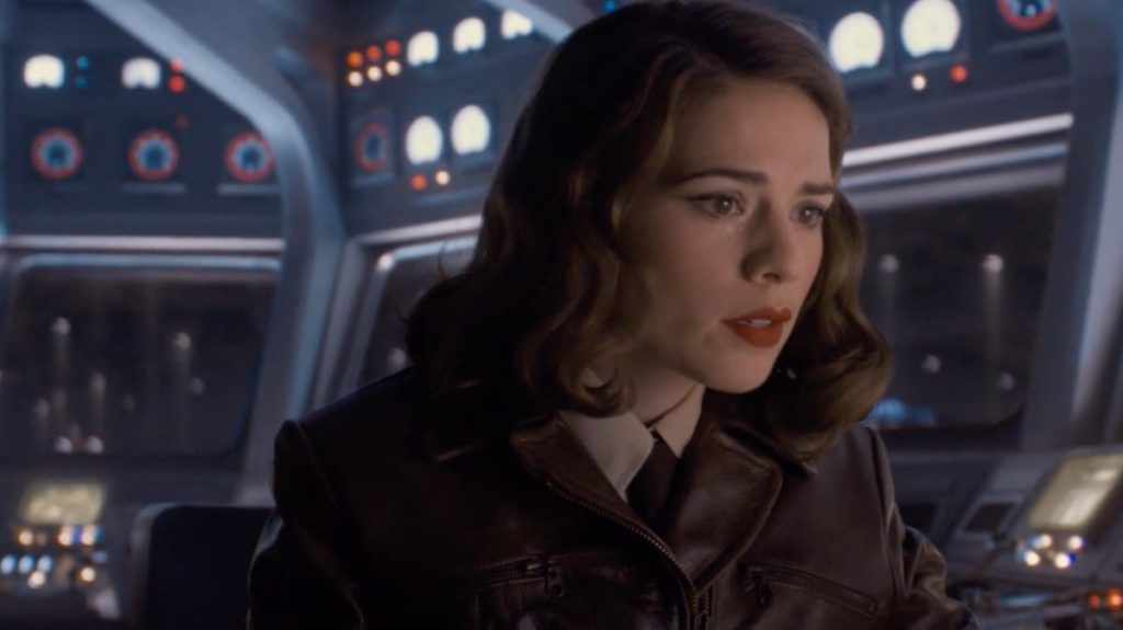 Agent Peggy Carter In Avenger Series