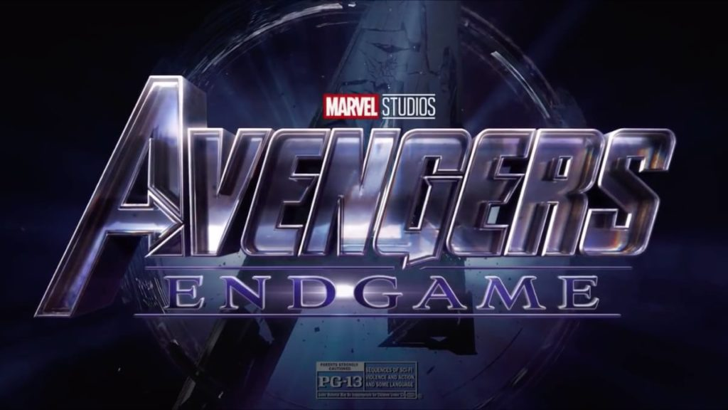 Avengers Endgame Title Screen 2019