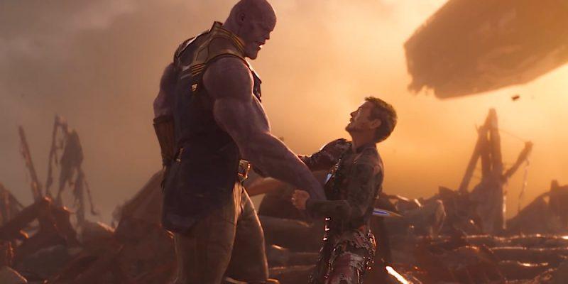 Thanos Iron Man War Scene In Avengers Infinity Wars