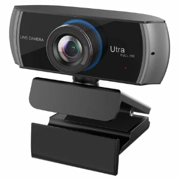 Full HD Webcam With 1536P Widescreen Video Recording