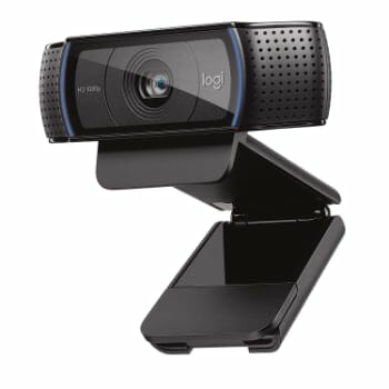 Logitech HD Pro Webcam C920 For Social Media Live Streaming