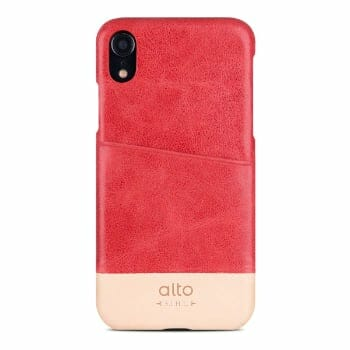 Alto Premium Italian Leather iPhone XR Case