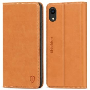 Shieldon Genuine Leather iPhone XR Case