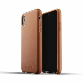 Mujjo Premium Leather Case for iPhone XR