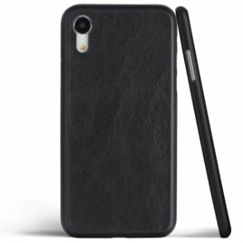 Totallee Thin Leather Case for iPhone XR
