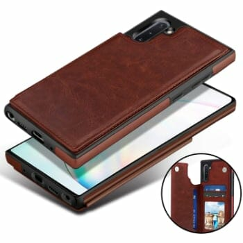 DONWELL Back Wallet Leather Cases