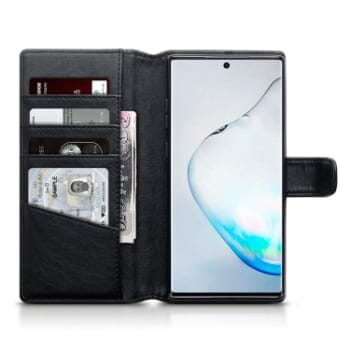 Olixar Leather Wallet Case For Note 10
