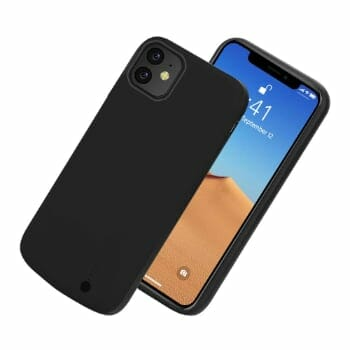 BasicStock Rechargeable Extended Battery Case 2019