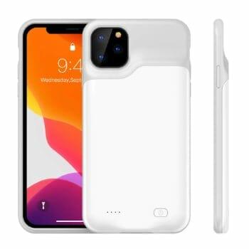 Yuqoka 6000 man External Battery Case For iPhone 11