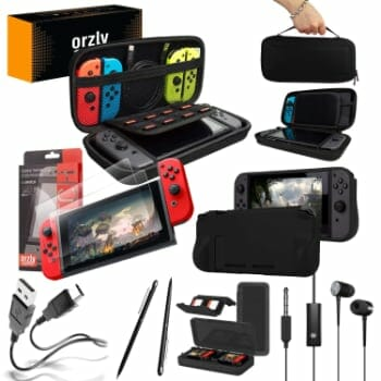 orzly essentials pack for nintendo switch