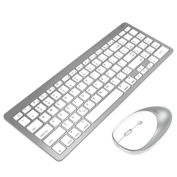 Inphic Ultra Slim Keyboard and Mouse Combo