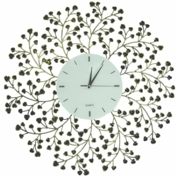 Decorative Wall Mount Flower Wall Clock