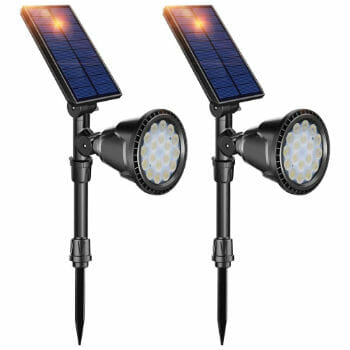 DBF Solar Enabled Outdoor Lights