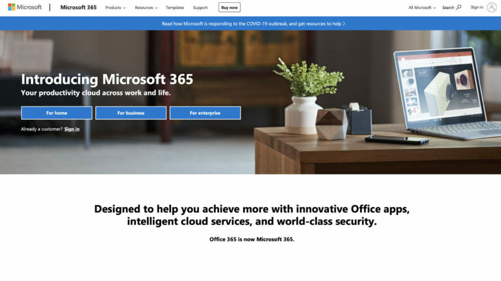 Microsoft 365 Home Subscription