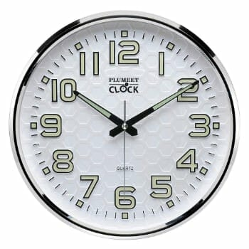 Plumeet Night Light Function Wall Clock