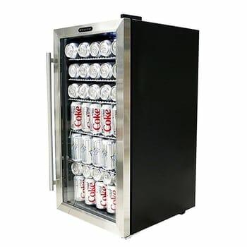 Whynter Steel Beverage Refrigerator