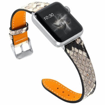 Ouluoqi Leather Apple Watch Band