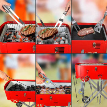 Starwide Go Charcoal Grill For Home