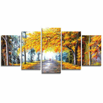 Wieco Homemade Oil Paintings For Home Office Decor