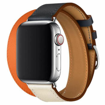 JL Band Double Wrap Leather band