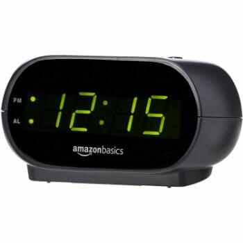 AmazonBasics Digital Alarm Clock For BedSide