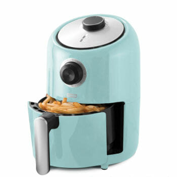 Dash Compact Air Fryer With Recipe Guide