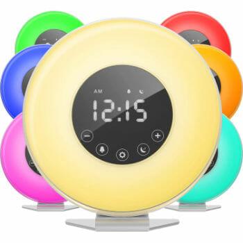 HomeLabs Color Switcher Alarm Clock