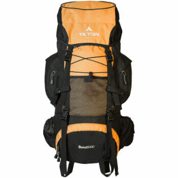 TETON Sports Scout Camping Backpack