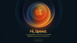 Apple Hi Speed Oct 2020 Event For iPhone 12 Launch