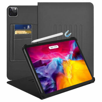 HFcoupe Wallet Case for 10.9 Inch iPad Air