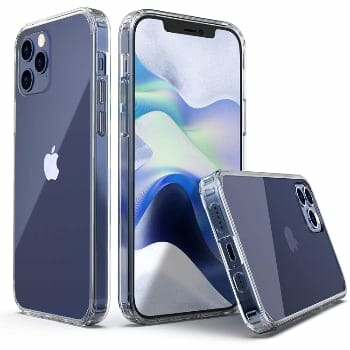 ULAK Clear Case for iPhone 12
