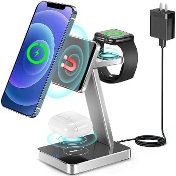 U Good 3-in-1 Wireless Charging Stand