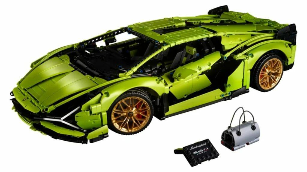 LEGO Lamborgini Sian FKP Set