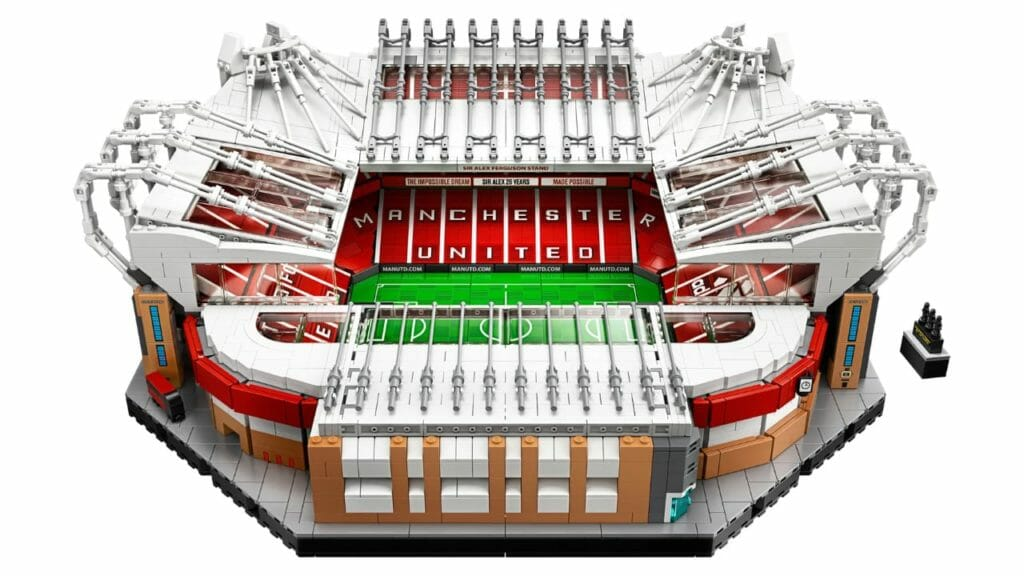 LEGO Old Trafford Manchester United 3898 Pieces