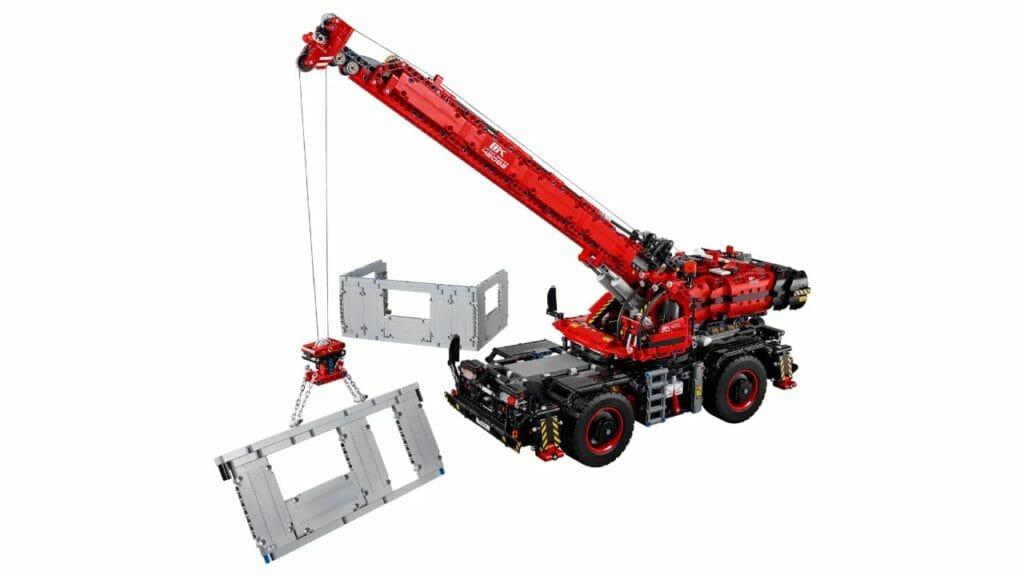 LEGO Rough Terrain Crane Set