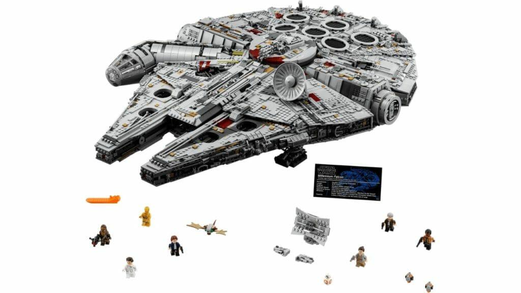 LEGO Star Wars UCS Millennium Falcon 7541 Pieces