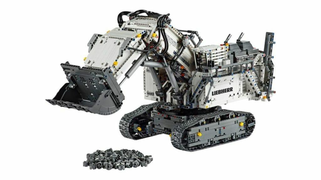 LEGO Technic Liebherr R-9800 Excavator-set
