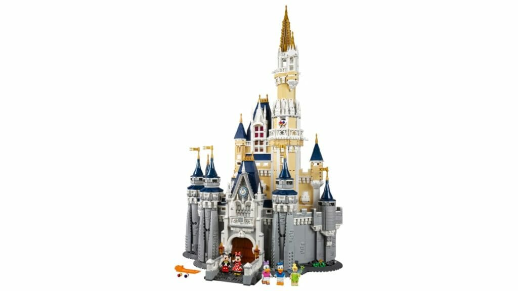 LEGO The Disney Castle 71040 Set