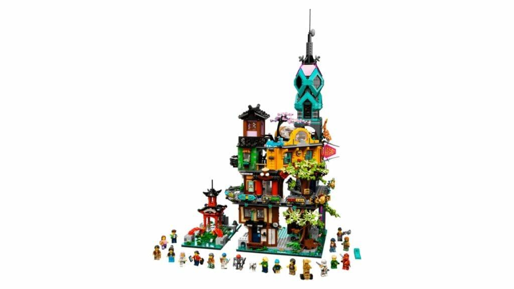 Ninjago Citi Garden Lego Set 5685 Pieces